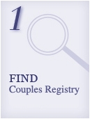 Honeymoon Registry Couple