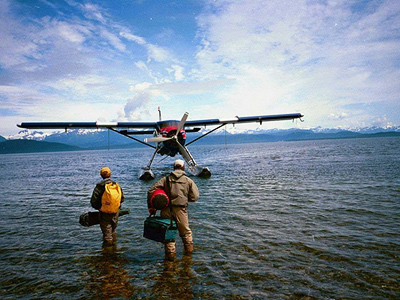Fly-Fishing Adventure via Floatplane