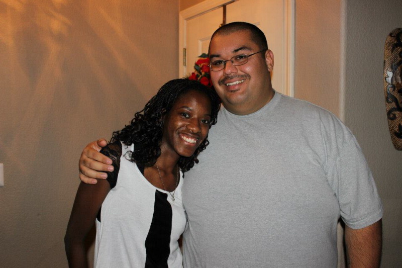 Ashlee Allen - Thompson and Adrian Fleming