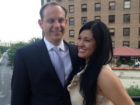 Cathryn Cepeda and Mark Autrey