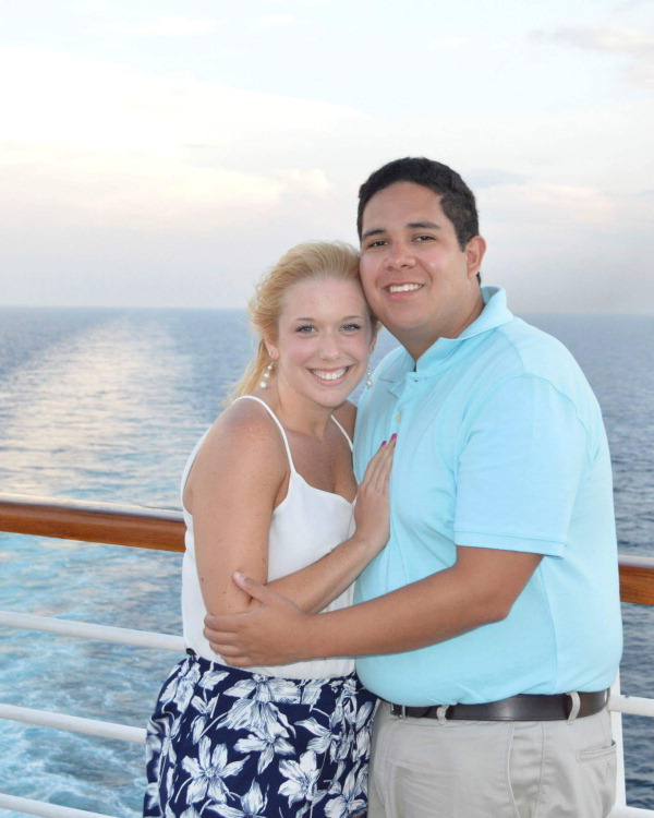 Mollie OHearn and Anthony Ruiz
