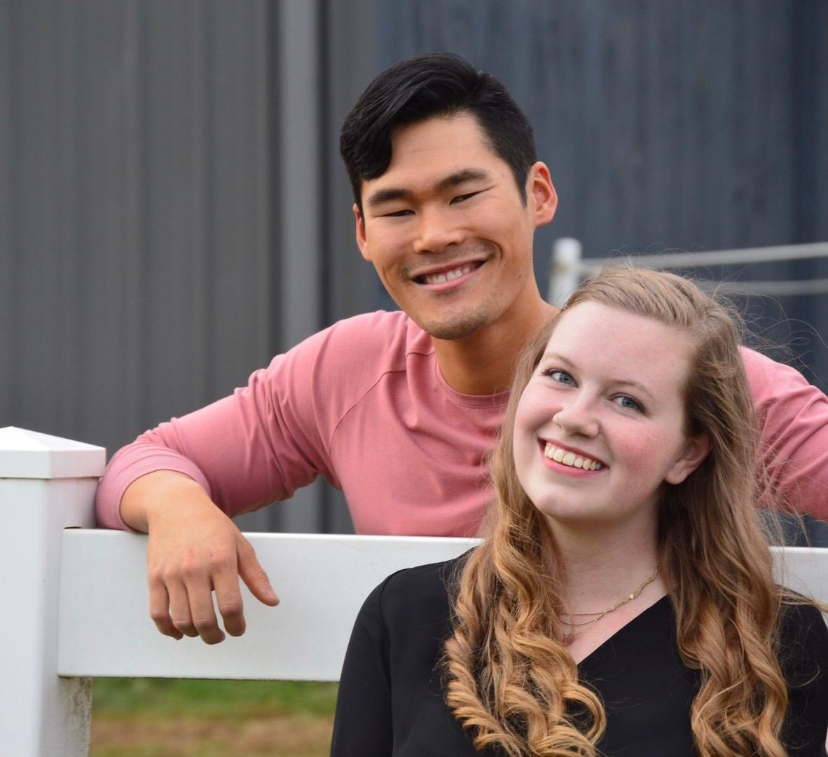 Hannah Gatlin and Curtis Souksavong